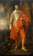 Portrait of Robert Rich, the Earl of Warwick painting reproduction, Sir Anthony Van Dyck
