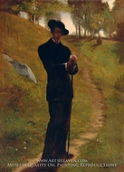 Portrait of the Painter by John La Farge