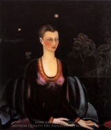 Porttrait of Alicia Galant painting reproduction, Frida Kahlo
