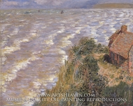 Pourville, Flood Tide by Claude Monet