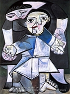Premiers Pas by Pablo Picasso (inspired by)