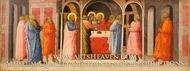 Presentation of Christ in the Temple painting reproduction, Giovanni Toscani