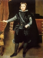 Prince Balthasar Carlos painting reproduction, Diego Velazquez