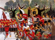 Prince Michael Viteazul and the Turks painting reproduction, Gheorghe Mitrachita