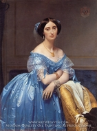Princesse Albert de Broglie by Jean Auguste Dominique Ingres