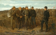 Prisoners from the Front painting reproduction, Winslow Homer