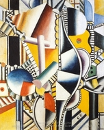 Propellers painting reproduction, Fernand Leger