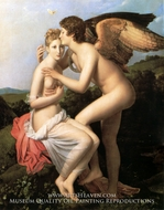Psyche Receiving the First Kiss of Love by Francois Gerard