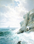 Purgatory Cliff by William Trost Richards