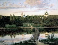 Quiet Abode by Isaak Levitan