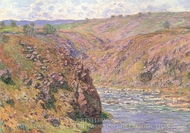 Ravine of the Creuse painting reproduction, Claude Monet