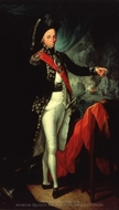 Rear-Admiral Horatio Nelson, First Baron Nelson of the Nile painting reproduction, Leonardo Guzzardi