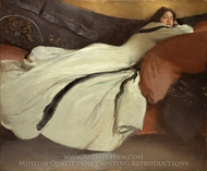 Repose painting reproduction, John White Alexander