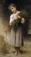 Returned from the Fields (Retour des champs) by William Adolphe Bouguereau