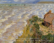 Rising Tide at Pourville by Claude Monet