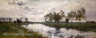 River and Towpath painting reproduction, Alfred Parsons