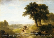 River Scene painting reproduction, Asher Brown Durand