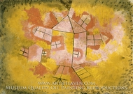 Rotating House by Paul Klee