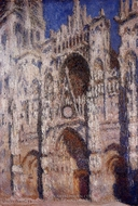 Rouen Cathedral, Afternoon Effect painting reproduction, Claude Monet