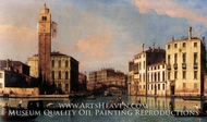 S. Geremia and the Entrance to the Cannaregio by Canaletto