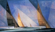 Sailing Boats painting reproduction, Lyonel Feininger