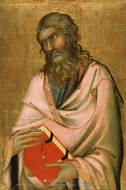 Saint Andrew painting reproduction, Simone Martini