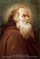 Saint Anthony the Abbot by Diego Velazquez