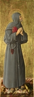 Saint Bernardino painting reproduction, Giorgio Schiavone