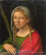 Saint Catherine of Alexandria by Garofalo