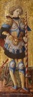 Saint George painting reproduction, Carlo Crivelli