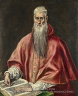 Saint Jerome as a Scholar by El Greco