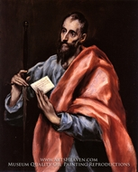 Saint Paul painting reproduction, El Greco