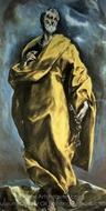Saint Peter painting reproduction, El Greco