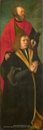 Saint Peter and a Donor painting reproduction, Gerard David