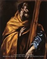 Saint Philip by El Greco