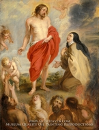Saint Teresa of Avila Interceding for Souls in Purgatory by Peter Paul Rubens