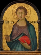 Saint Thomas painting reproduction, Simone Martini