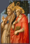 Saints Zeno and Jerome painting reproduction, Filippino Lippi