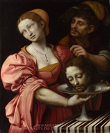 Salome painting reproduction, Giampietrino