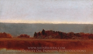 Salt Meadow in October painting reproduction, John Frederick Kensett