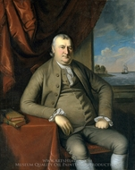 Samuel Mifflin painting reproduction, Charles Willson Peale