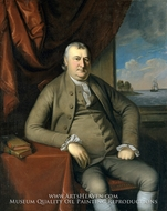 Samuel Mifflin by Charles Willson Peale