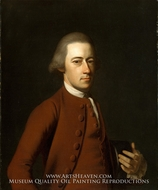 Samuel Verplanck painting reproduction, John Singleton Copley