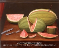 Sandia painting reproduction, Fernando Botero