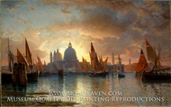 Santa Maria della Salute, Sunset by William Stanley Haseltine
