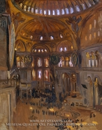 Santa Sofia painting reproduction, John Singer Sargent
