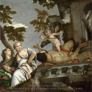 Scorn painting reproduction, Paolo Veronese