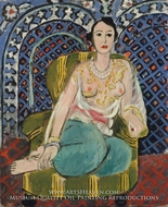 Seated Odalisque by Henri Matisse