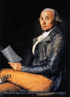 Sebastian Martinez by Francisco De Goya