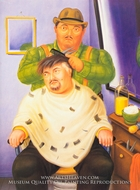 Self-Portrait by Fernando Botero